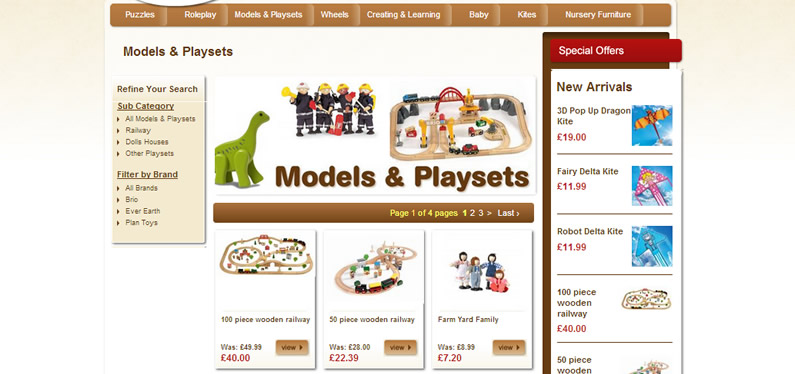 Online shop website designer, Kent