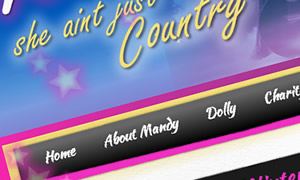 Website design for music entertainers in Kent