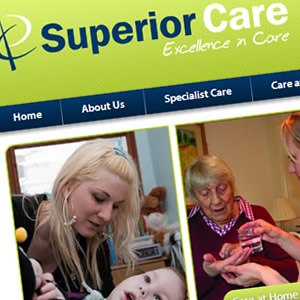 Website design for care company in Kent