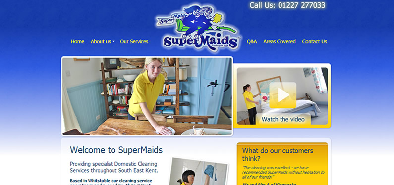 Web design for company in Kent